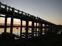 ミャンマー8日間の旅(4)ミングォンパゴダ、旧王宮、ウーベイン橋、マンダレー・ヒル