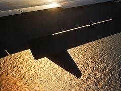 JAL-6 JL146便 青森⇒羽田空港 85分 定刻到着 ☆夕陽を受けた東京湾を降下し