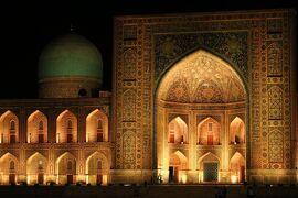 シルクロードにおける宗教や歴史文化の伝播について興味津々なのでウズベキスタン来てみた(幻想的な夜サマルカンド前編8/27PM~夜)7