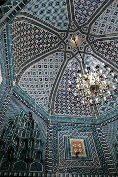 シルクロードにおける宗教や歴史文化の伝播について興味津々なのでウズベキスタン来てみた(ホントに青かったサマルカンド後編8/28朝~PM)8
