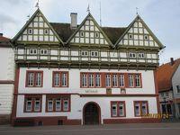 2019年ドイツのメルヘン街道と木組み建築街道の旅:⑮ブロムベルクには古城や伝説、美しい木組みの家並みがある。