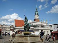 2019年夏 スロバキア・ポーランド旅行 最古の都市ポズナニ(ポーランド)1 宿・旧市場広場・旧市庁舎