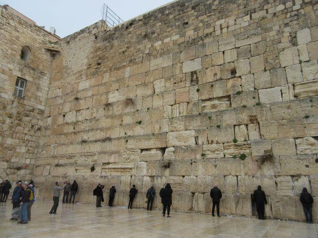 2020年、冬のヨルダン、イスラエル8日間の旅、第六日目前半ははエルサレム旧市街を巡ります。ダビデの墓から嘆きの壁へ行き、ビアドロローサを歩いて聖墳墓教会の手前までです。<br /><br />【旅程】<br />1月26日(日)・27日(月)  成田~ドーハ~アンマン~ペトラ(泊)  <br />1月28日(火)  終日ペトラ(泊)   <br />1月29日(水)  ペトラ~マダバ~ネボ山~死海 (泊) <br />1月30日(木)  死海~テルアッスルターン~クムラン~マサダ~ エルサレム(泊) <br />1月31日(金)  エルサレム~ベツレヘム~エルサレム (泊)   ●<br />2月1日(土) ・2日(日) エルサレム~アンマン~ドーハ~成田     <br />