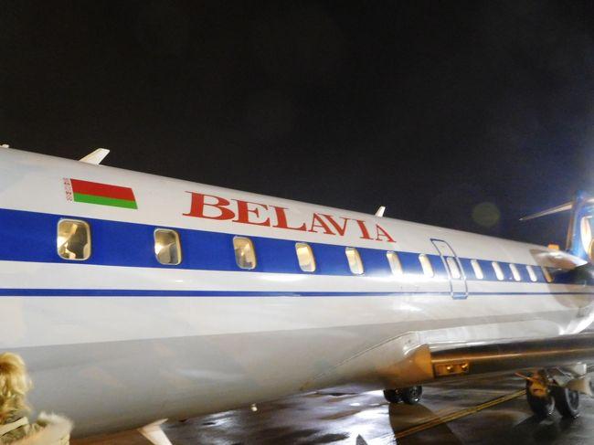 ベラルーシの首都ミンスク国際空港トランジット(1712)