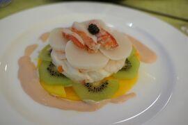 早春の箱根♪ Vol10 ☆強羅温泉:ホテル凛香のディナーは豪華な海鮮料理♪