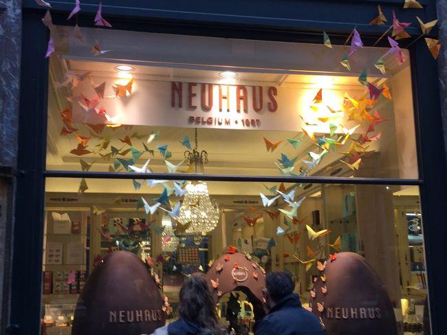 ベルギーのブリュッセルにチョコレートを買いに行って来ました