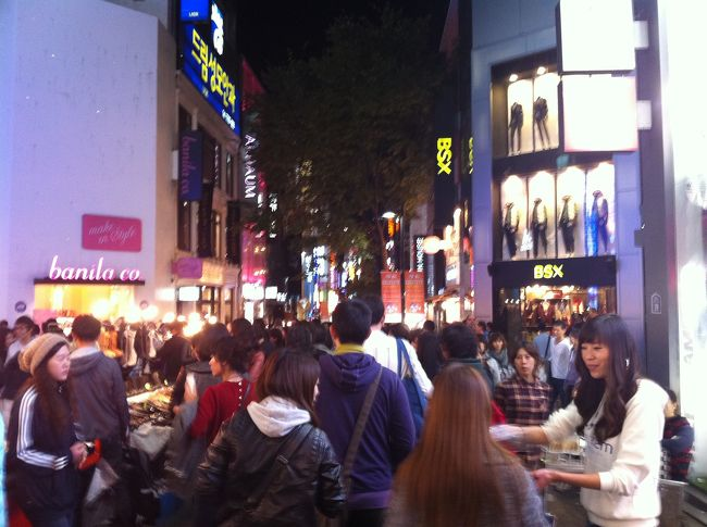 韓国の美味しいもの食べに行きました