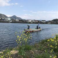 静岡の三島、沼津港市場食堂B級グルメ?&狩野川渡し舟ツアー