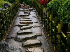 雨の日に岡山観光(岡山城・後楽園)