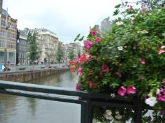 オランダ アムステルダム 最終日はのんびり街歩き アムステルダムはやっぱり運河。