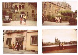 セピア色の思い出:1974年9月1日、上司のアウディ車に乗って、来独間もない家族と初めてゾーリンゲン、ボン、ケルンを巡る。