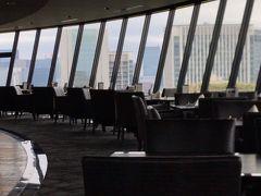 ホテル ニューオータニ VIEW & DINING THE SKY お昼のビュッフェ。
