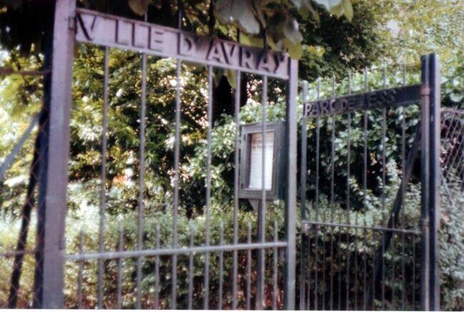 """1977年 パリ 男だけど """"an・an"""" のツアーに 4/4 :またまた最後はヴィル・ダヴレー"""
