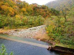 鶴巻池と泡抱ダムの紅葉