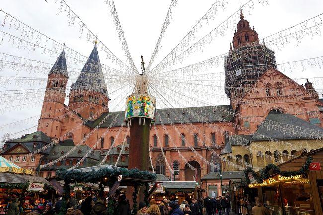 シュトゥットガルトを後にして、また来ちゃいました大聖堂の街マインツ クリスマス市巡りの旅12