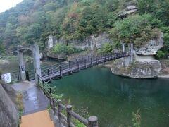 みちのく会津.登山&温泉旅・その4.塔のへつり早朝散歩&東武特急スペーシアで東京へ。