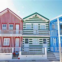 憧れのポルトガル(4)インスタ映えする海辺の街 コスタ・ノヴァ