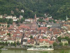 世界一周の思い出 ドイツのかわいい街1ハイデルベルク