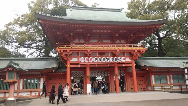 近くの県立博物館に用事があった際、Googleマップを見ていたら近くに大宮氷川神社があったので行ってみました。