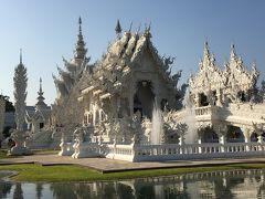 タイ旅行4日目:チェンライで緑のお寺・黒い家・花の離宮そして白いお寺