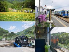 上州から信州へ~観光列車とお花畑を楽しむ、気ままな晩春の旅~