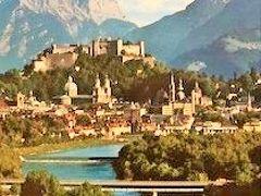 備忘録 ①私がウィーンに単身赴任していた時、家内が訪ねてきてくれました。ウィーン~ザルツブルグ~インスブルック その3