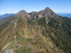 月例登山報告2 /八ヶ岳縦走2019・その3.八ヶ岳連峰の主峰「赤岳」を登頂!絶景を堪能する。
