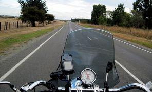 クライストチャーチでオートバイを借りる + テカポ湖へ / 海外ツーリング-ニュージーランド編 1