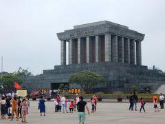 2018年4月 初めてのベトナム1人旅 ハノイ編その2 ホーチミン廟とハノイ城観光