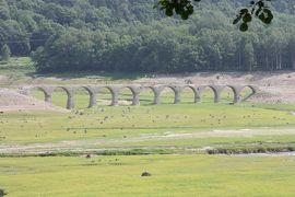 北海道旅行記2019年夏(4)士幌線廃線跡巡り・アーチ橋・幌加編
