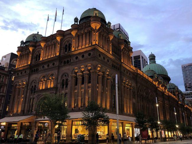 往復ANA夜行便でシドニーとブリスベン3泊6日② ~シドニーぶらぶら街歩き~