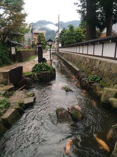 飛騨古川の街並みと神岡鉱山跡を結ぶ100円バス