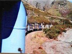 トランツアルパインで列車ツアー