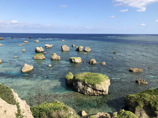 2020年お正月沖縄宮古島~来間島宮古島の風が吹き抜ける丘の宿またたびや~♪楽園の果実ジェラード♪