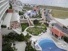 沖縄本島中部に位置するアーバンリゾートホテルで、4泊5日の沖縄旅行