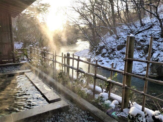 冬の会津旅(1)~自然に囲まれた静かな湯宿《磐梯熱海温泉 熱海荘》と、郡山のスイーツめぐり