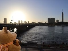8年ぶり8度目のエジプト8日間(18)ナイルの夕日は臭かった & 両替できない1ドル札