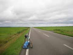 北海道自転車旅11日目(浜頓別⇒稚内空港 85.7km)