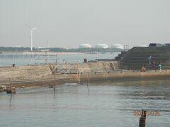 大野漁港の様子を見に行く