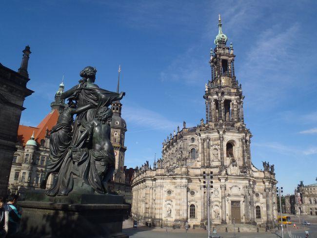 2011年7月は、近畿日本ツーリスト(ホリデイ)のツアーで、初めてのドイツへ行きました。4日目はニュルンベルク、バンベルク、5日目はドレスデン、ポツダム、そして、ベルリンへ。
