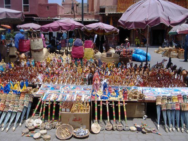2007イタリア・スペイン・モロッコ1人旅⑧~マラケシュ・カサブランカ編~