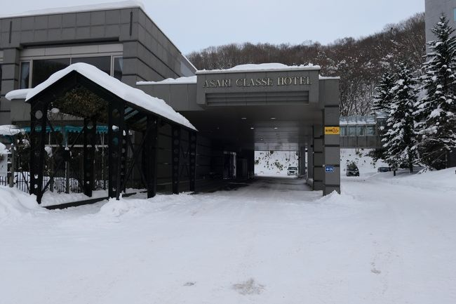 2020年北海道雪まつりの旅4日目 小樽雪あかりの路2020(朝里川温泉) 前編