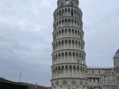 久々のパックツアーでイタリア旅行に行ってきました。 ピサ編