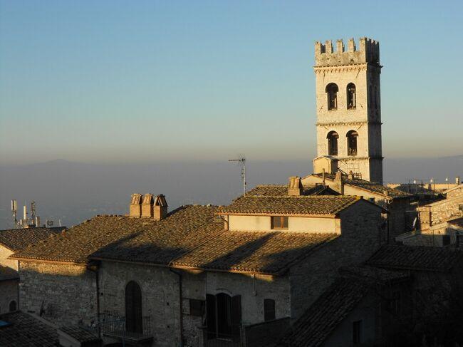イルミネーションの季節のイタリア旅2019-20~⑰元旦のアッシジからローマへ