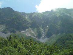 大山と松江