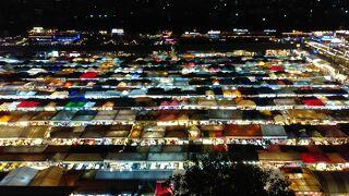 タイ バンコク③ 2020 カオサンとタラートロットファイ・ラチャダーに行く