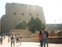 エジプト一周・世界遺産の旅(3 ルクソール・カルナック神殿)