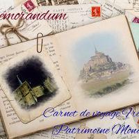 【備忘録】モン・サン・ミッシェル島内に泊まるフランス世界遺産紀行とパリ 2006年 11月