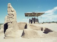 Casa Grande Ruins, Saguaro, San Xavier Mission, 1979.