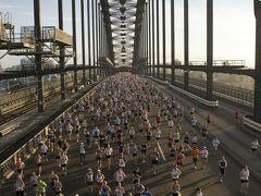 海外初マラソンはシドニーで